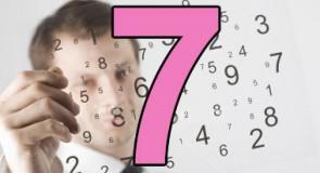 Signification du chiffre 7